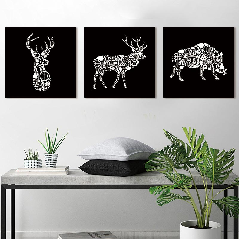 Picture Canvas Painting abstract  animal Art Pictures art print on canvas Wall poster painting home decoration for living room