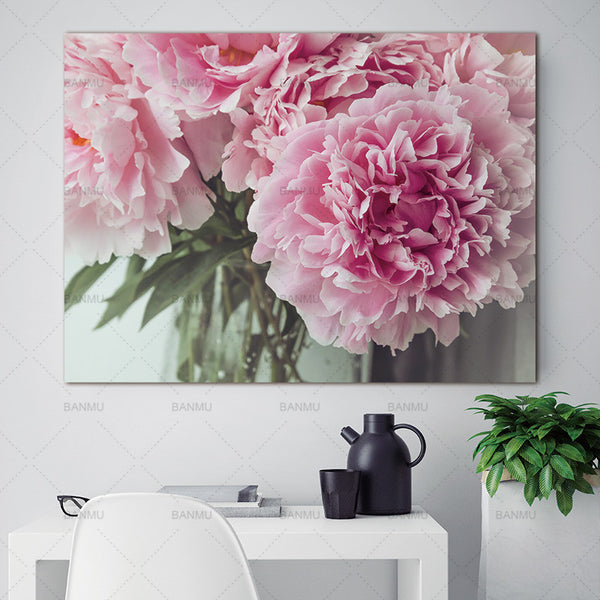 Canvas Painting flower Wall Art Pictures art  prints on canvas  home decor Wall poster painting home decoration for living room