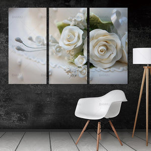 wall art Picture landscape canvas painting rose flower posters and prints home decoration painting art print on canvas no frame