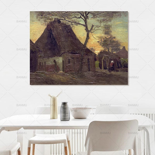 Wall picuture Abstract art wall canvas painting wall art  home decor poster prints animal painting art home decoration no frame
