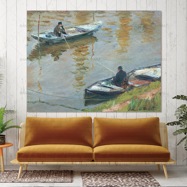 Wall art Pictures Canvas Scenery  Poster Prints Bathroom Home Decor Abstract figure canvas painting landscape wall art  no frame