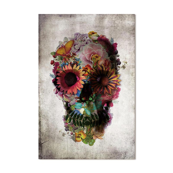 Canvas painting art  Picture  Skull walll art prrint decor  home Oil Painting picture posters canvas print Living Room