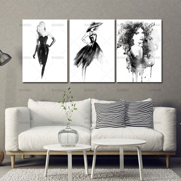 Nordic Posters cavas picture  Prints Wall Art Canvas Painting Nordic Decoration Cuadros Wall Pictures For Living Room