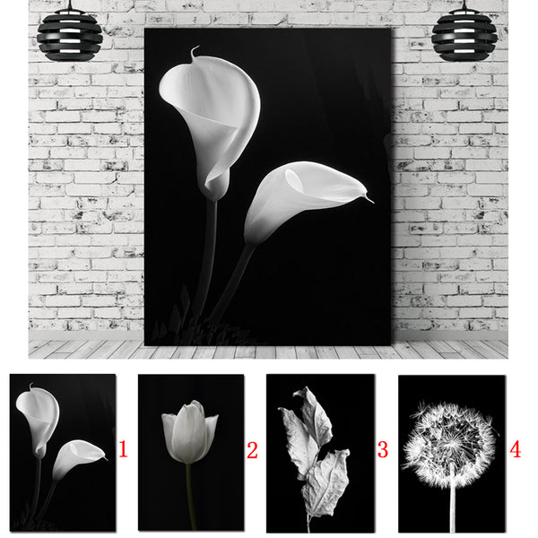 Nordic poster Canvas Painting  Picture home decor art  Prints flower Natural Wall Pictures Living Room Art Decoration Picture
