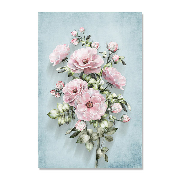 Classical Flowers Nordic Poster Cuadros Posters And Prints Wall Art Canvas Painting Wall Pictures For Living Room Unframed