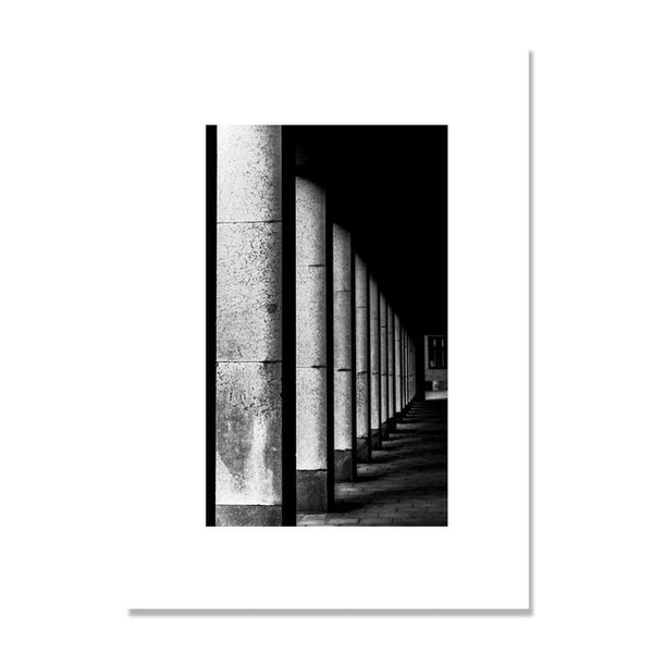 Building Nordic Poster Stair Posters And Prints Corridor Wall Art Canvas Painting Wall Pictures For Living Room Cuadros Unframed