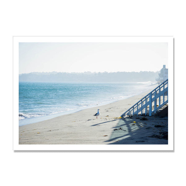 Seascape Nordic Poster Seagull Cuadros Decoracion Coconut Tree Wall Pictures For Living Room Wall Art Canvas Painting Unframed
