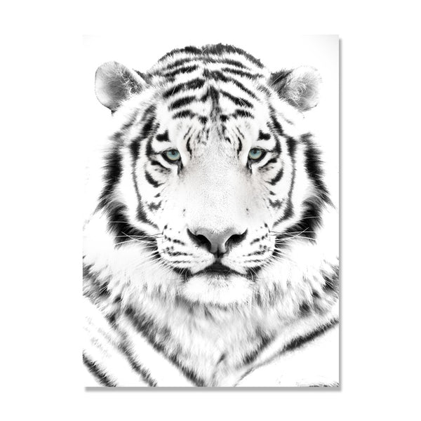 Tiger Nordic Poster Aircraft Posters And Prints Swim Wall Art Canvas Painting Wall Pictures For Living Room Cuadros Unframed
