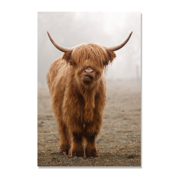 Brown Cow Nordic Poster Forest Posters Wall Art Canvas Painting Cuadros Decoracion Wall Pictures For Living Room Dream Unframed