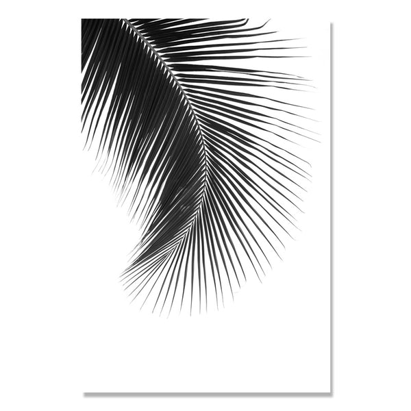 Black And White Scenery Seawater Forest Nordic Poster Wall Art Canvas Painting Mountain Wall Pictures For Living Room Unframed