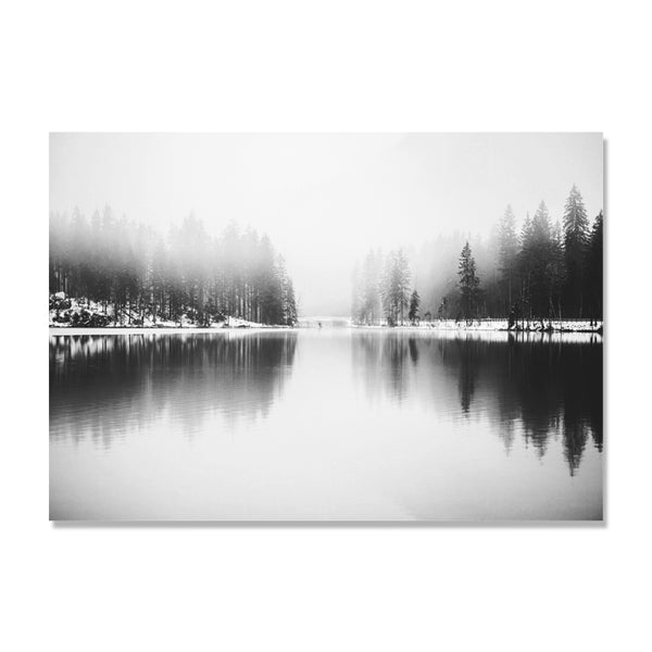 Cuadros Decoracion Grey Leaf Mountain Nordic Poster Wall Art Canvas Painting Picture Wall Pictures For Living Room Unframed