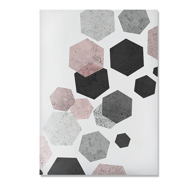 Abstract Geometry Wall Art Canvas Painting Posters Cuadros Nordic Poster Modern Wall Pictures For Living Room Picture Unframed