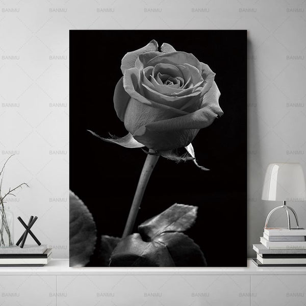 Modern Canvas Painting Wall Art Picture home decor Print on flowers Wall Picture decor print  for living room Art no frame