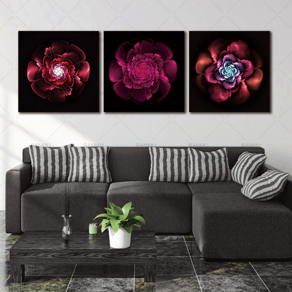 No frame canvas painting wall art poster decoracion quadros canvas painting wall pictures decoration home Picture