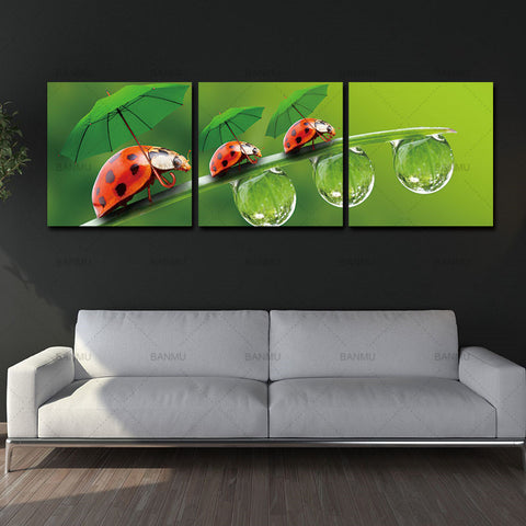 Flower wall art Canvas Print Wall Paintings decoration for living room morden print  Oil Art Pictures Modular Painting Modern