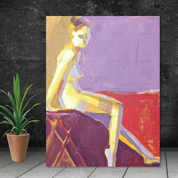 Canvas Wall Pictures Poster decor modern Wall art abstract print figure on canvas painting art print canvas poster art portrait