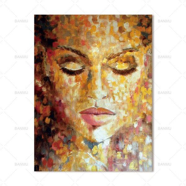 canvas painting Poster figure Wall Picture home decor Wall art abstract Picture print on canvas for living room Art Decoration