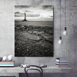 Canvas Painting Prints on Sea Natural Stone Hope Nordic Abstract Wall Pictures Art Decoration Pictures Scandinavian No Frame