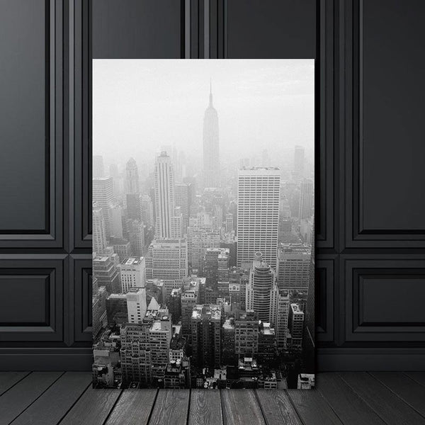 Canvas Painting Prints City Building Nordic Abstract Wall Pictures for Living Room Art Decoration Pictures Scandinavian No Frame