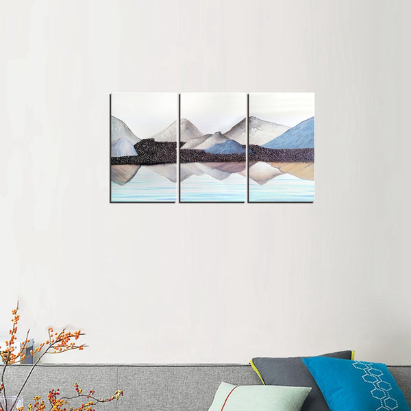 Landscape Mountain Canvas Painting Poster Nordic Mountain Painting Print Artwork Picture For Living Room Wall Art Home Decor