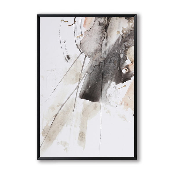 Abstract Watercolor Splash A4 Canvas Painting Art Print Poster Picture Wall Decoration Modern Home Decoration Mural