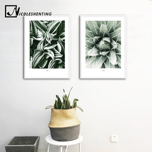 Plant Leaf Canvas Poster Nordic Style Wall Art Print Scandinavian Minimalist Painting Decorative Picture Living Room Decoration