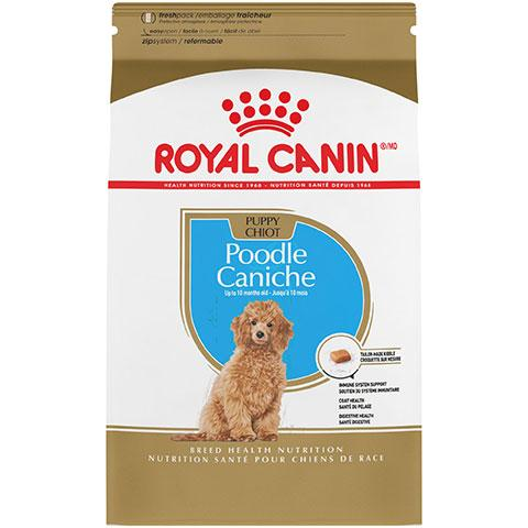 Royal Canin Breed Health Nutrition Poodle Puppy Dry Dog Food, 2.5 lb