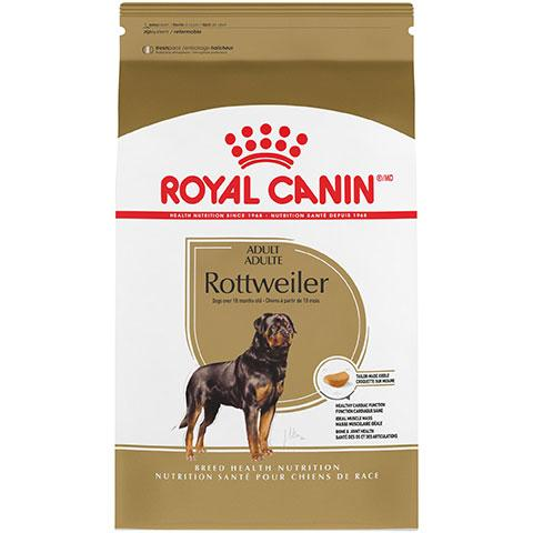 Royal Canin Breed Health Nutrition Rottweiler Adult Dry Dog Food, 30 lb