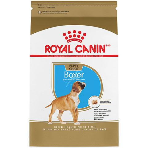 Royal Canin Breed Health Nutrition Boxer Puppy Dry Dog Food, 30 lb