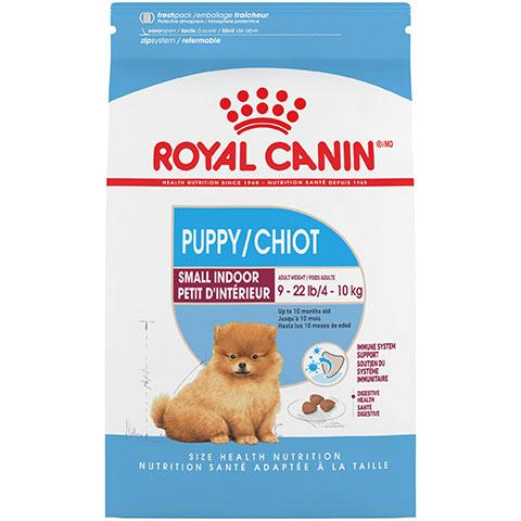 Royal Canin Size Health Nutrition Small Indoor Puppy Dry Dog Food, 2.5 lb