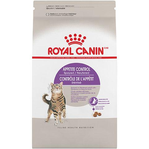 Royal Canin Feline Health Nutrition Appetite Control Spayed/Neutered Dry Cat Food