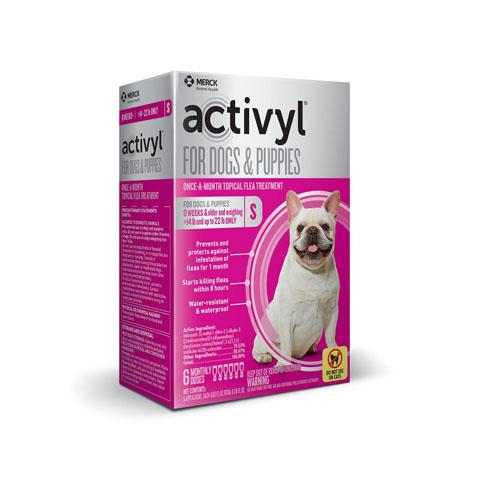 RX - Activyl for Dogs & Puppies 14-22 lbs, 6 Treatments