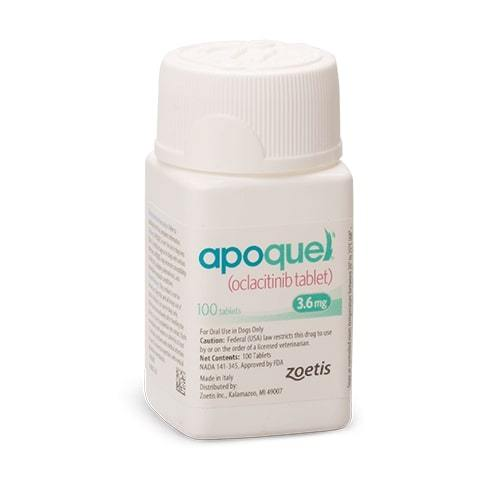Apoquel Tablets for Dogs 3.6mg