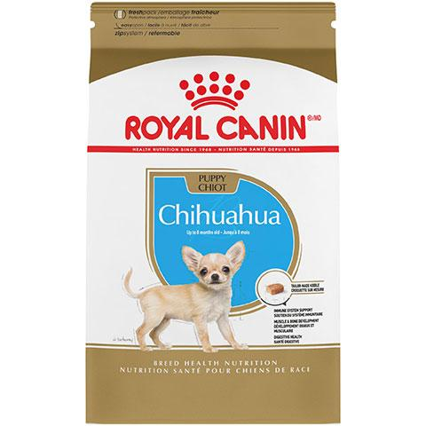 Royal Canin Breed Health Nutrition Chihuahua Puppy Dry Dog Food, 2.5 lb Bag