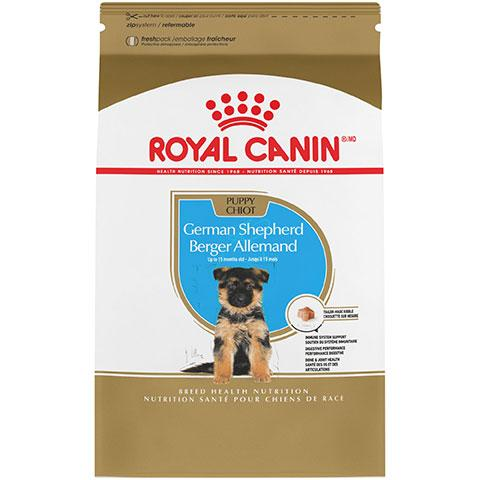 Royal Canin Breed Health Nutrition German Shepherd Puppy Dry Dog Food, 30 lb Bag