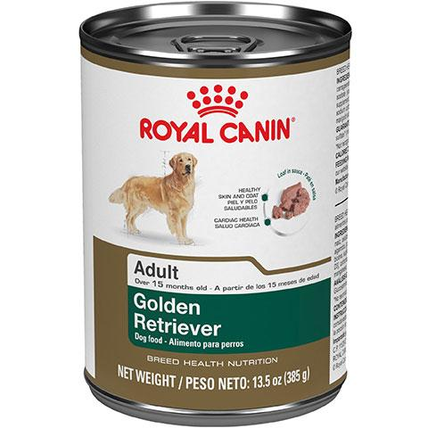 Royal Canin Breed Health Nutrition Golden Retriever Adult Canned Dog Food, 13.5 oz