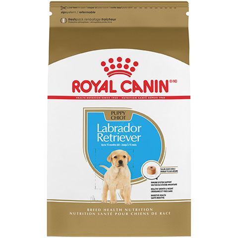 Royal Canin Breed Health Nutrition Labrador Retriever Puppy Dry Dog Food, 30 lb Bag