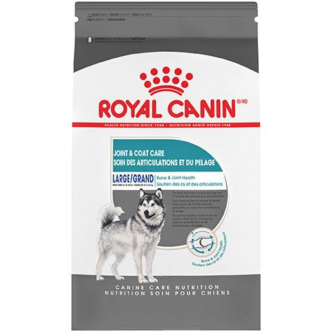 Royal Canin Canine Care Nutrition Large Joint & Coat Care Dry Dog Food, 30 lb Bag