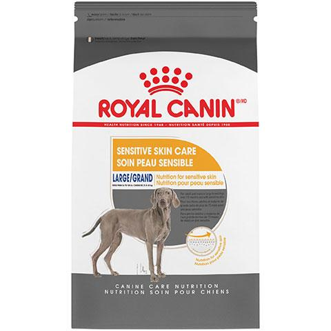 Royal Canin Canine Care Nutrition Large Sensitive Skin Care Dry Dog Food, 30 lb Bag