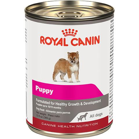 Royal Canin Canine Health Nutrition Puppy Loaf In Sauce Canned Dog Food, 13.5 oz