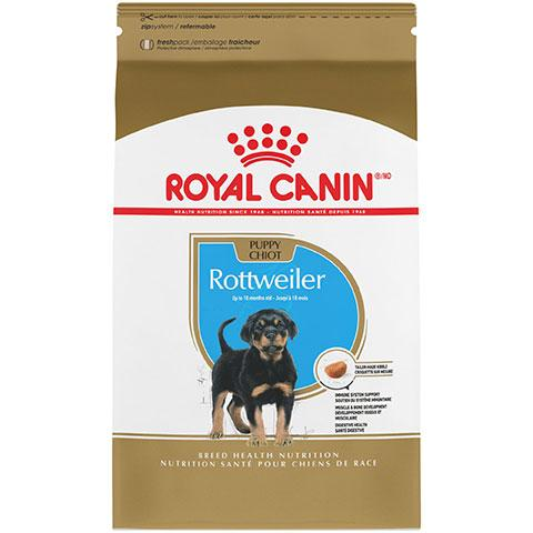 Royal Canin Breed Health Nutrition Rottweiler Puppy Dry Dog Food, 30 lb Bag