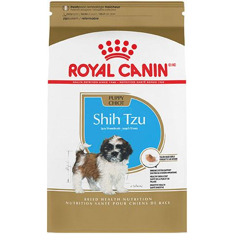 Royal Canin Breed Health Nutrition Shih Tzu Puppy Dry Dog Food, 2.5 lb Bag