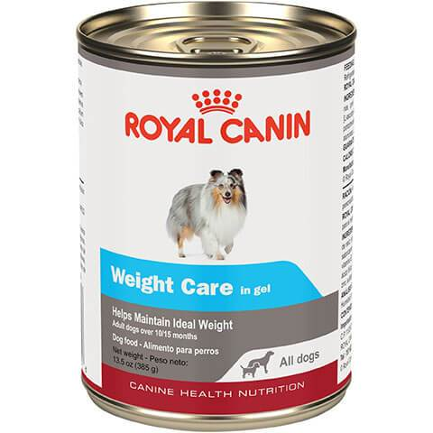 Royal Canin Canine Health Nutrition Weight Care In Gel Canned Dog Food, 12/13.5 oz