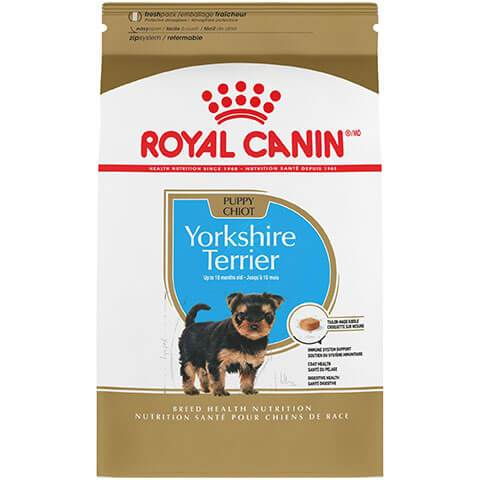 Royal Canin Breed Health Nutrition Yorkshire Terrier Puppy Dry Dog Food, 2.5 lb Bag