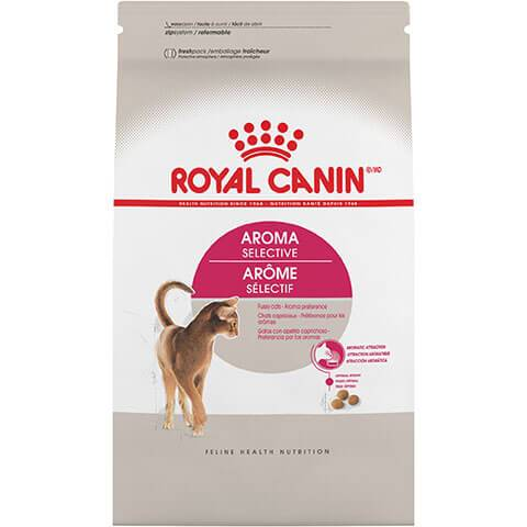 Royal Canin Feline Health Nutrition Aroma Selective Dry Cat Food,3 lb Bag
