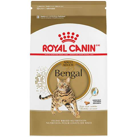 Royal Canin Feline Breed Nutrition Bengal Adult Dry Cat Food,7 lb Bag