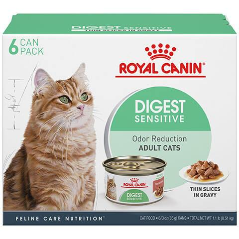 Royal Canin Feline Care Nutrition Digest Sensitive Thin Slices In Gravy Canned Cat Food