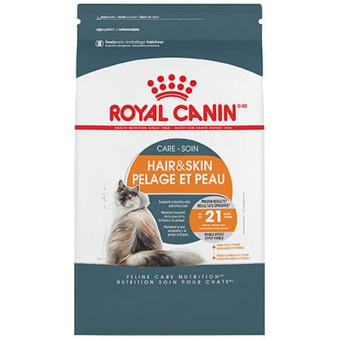 Royal Canin Feline Care Nutrition Hair & Skin Care Dry Cat Food