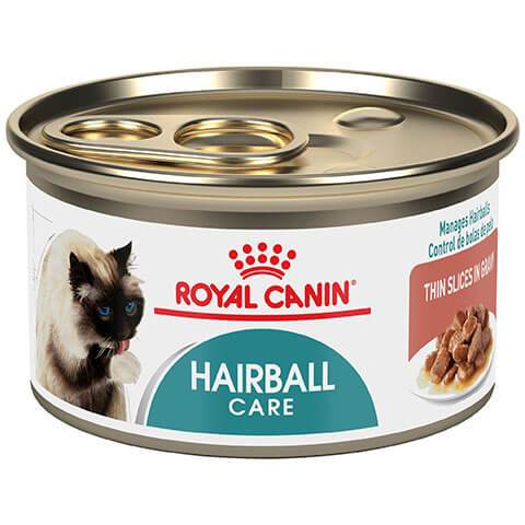 Royal Canin Feline Care Nutrition Hairball Care Thin Slices In Gravy Canned Cat Food, 24/3 oz
