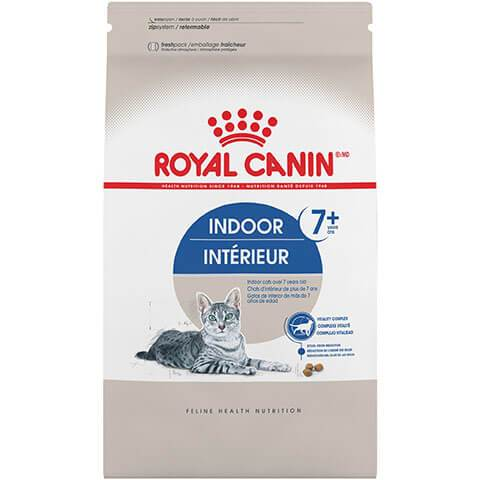 Royal Canin Feline Health Nutrition Indoor Adult 7+ Dry Cat Food